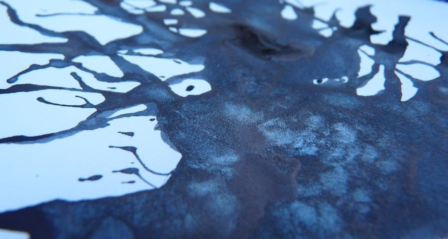 Diamine Night Sky shimmer