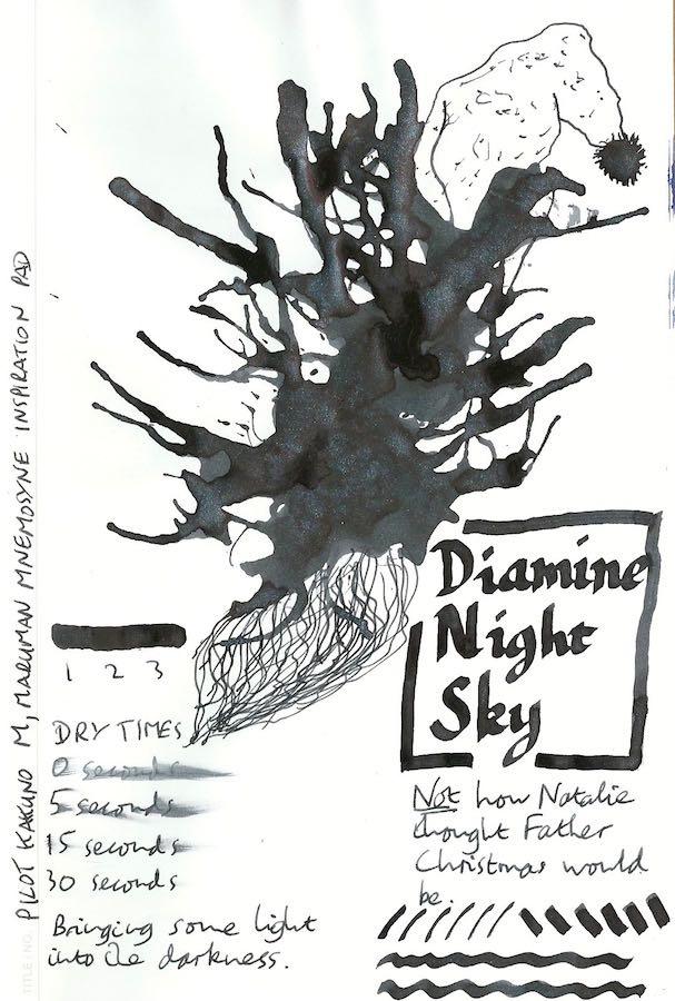 Diamine Night Sky