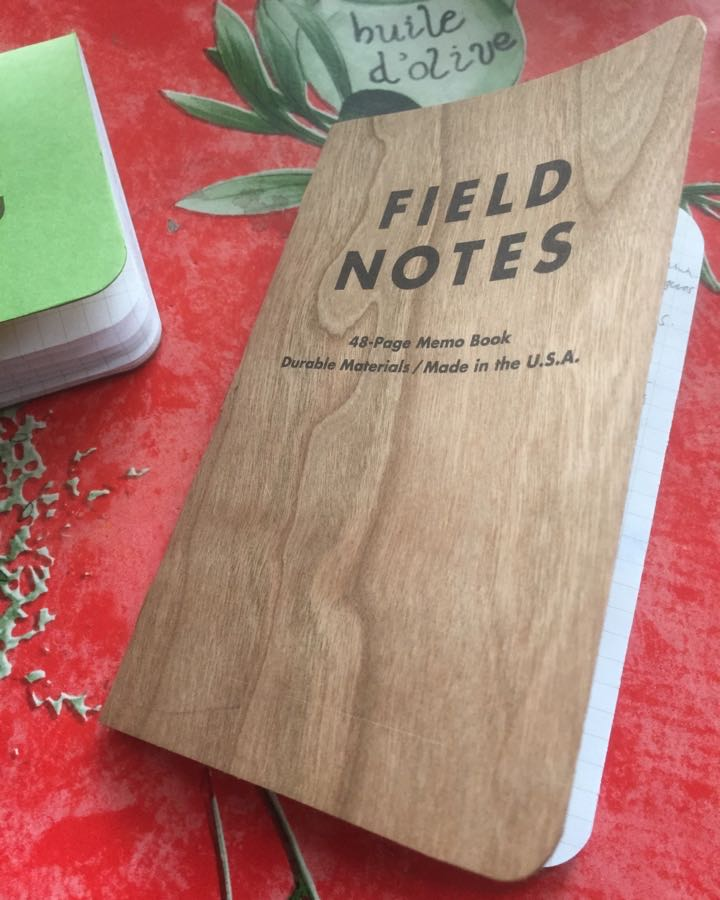 Field Notes Cherry Graph mini review