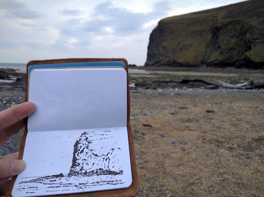 Crackington Haven cliff