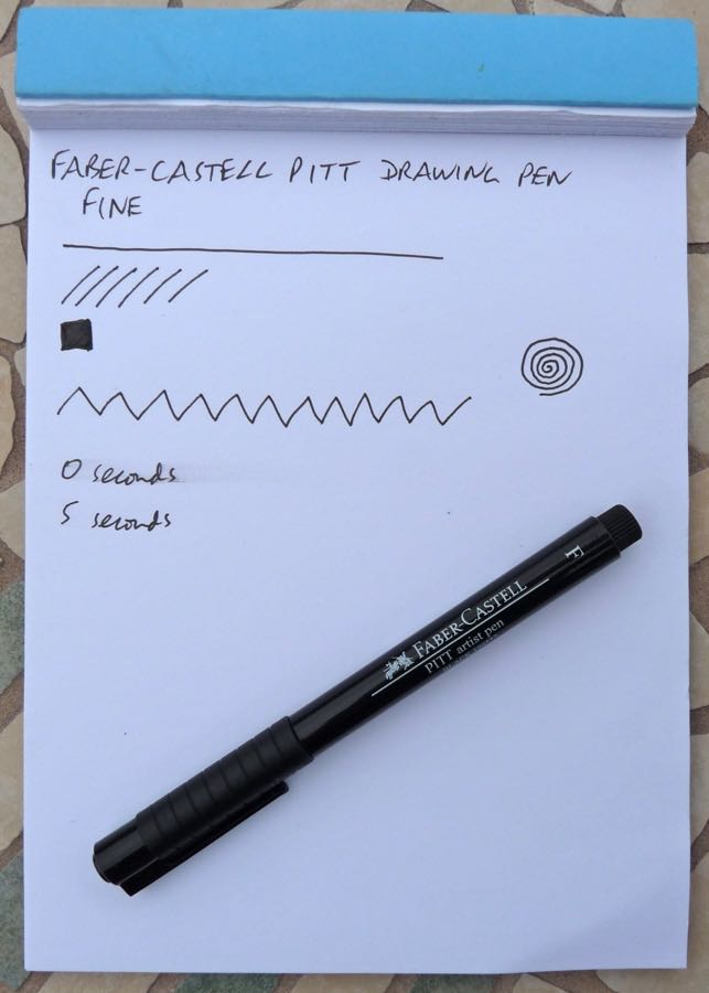 Faber-Castell Pitt writing part