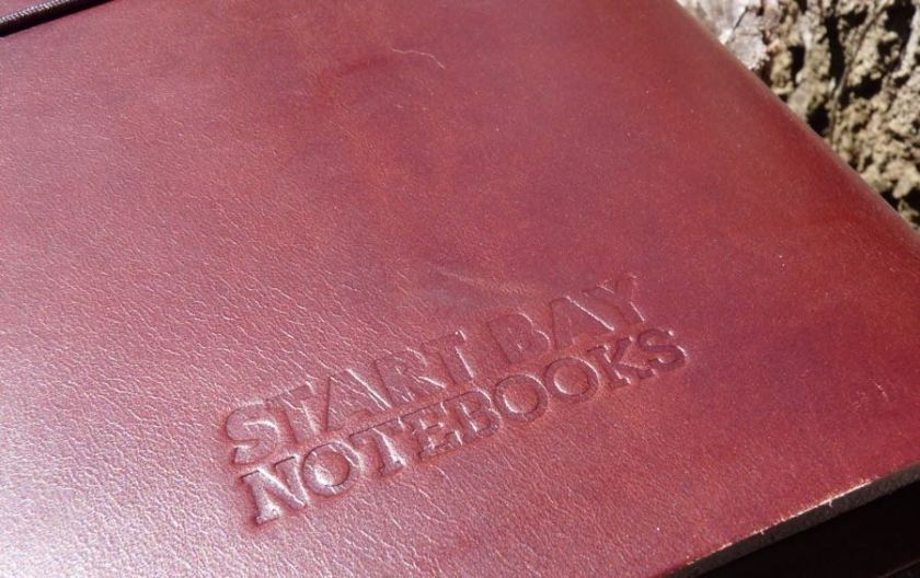 Start Bay notebook branding
