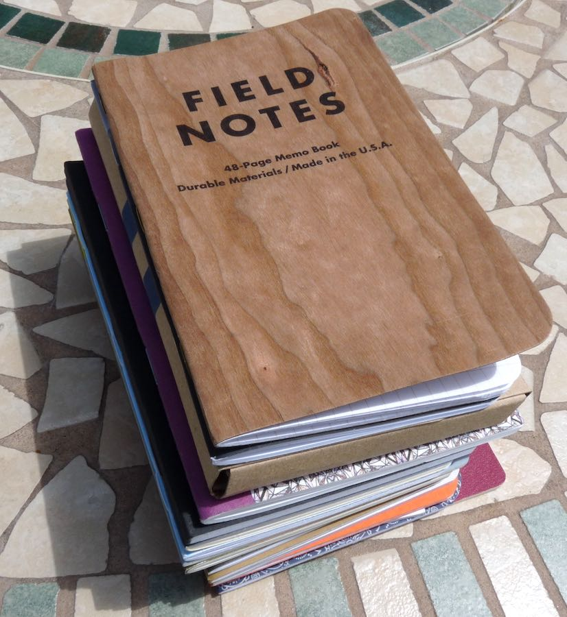 Pocket Notebook giveaway