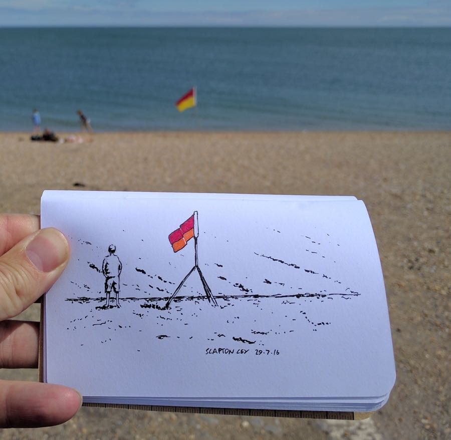Lifeguard flag