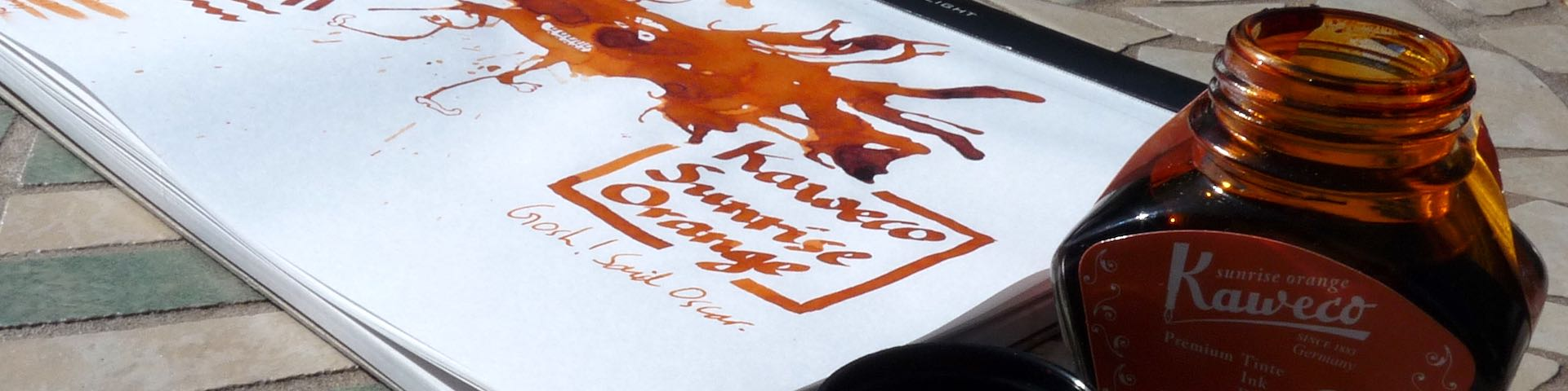 Kaweco Sunrise Orange featured