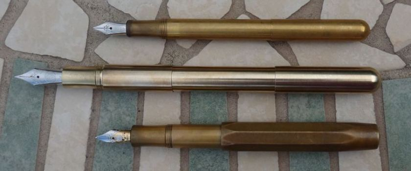Kaweco Supra comparison extended posted