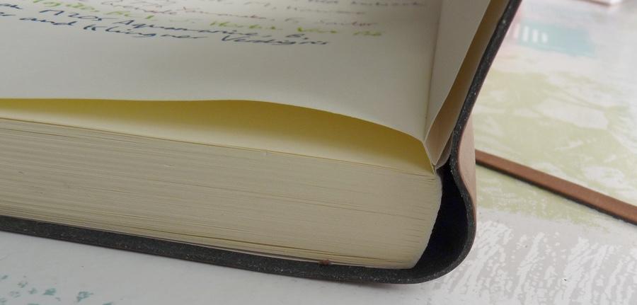Viaggio Notebook binding