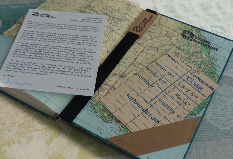 Studio Tartuensis Notebook extras