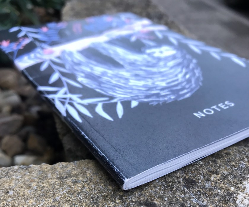 Papio Press notebook spine