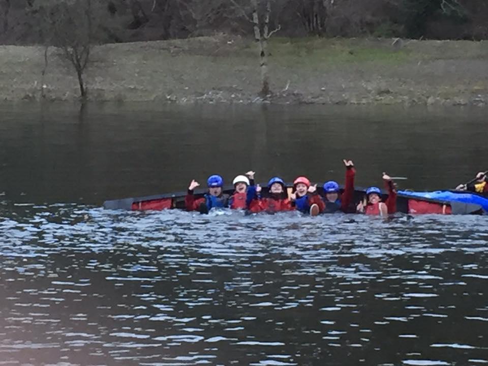 Kayaking scouts ?!
