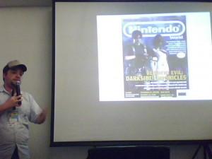 Dando palestra no Rio Game Show 2009