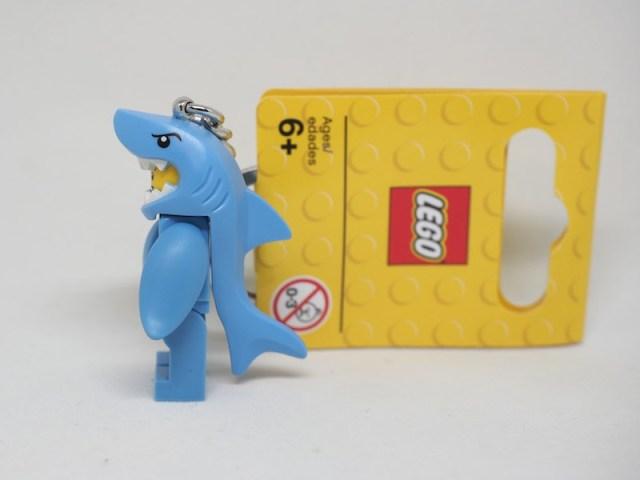 レゴ サメキーホルダー