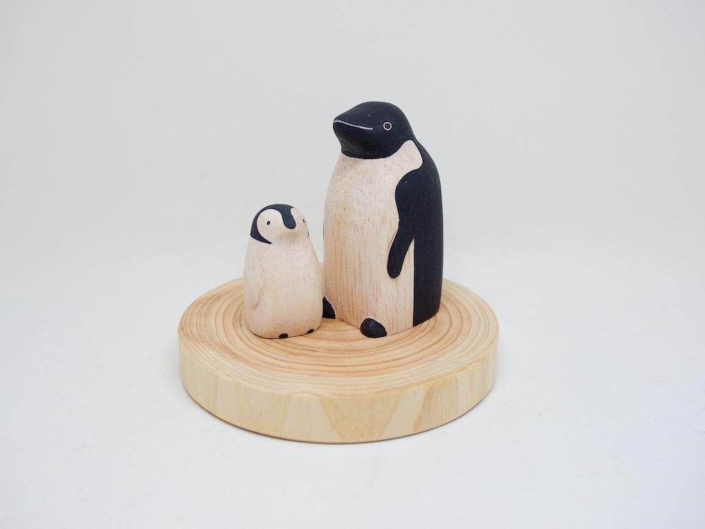 キシル ペンギン親子