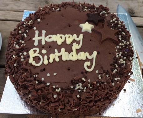Brett Birthday cake 2 small