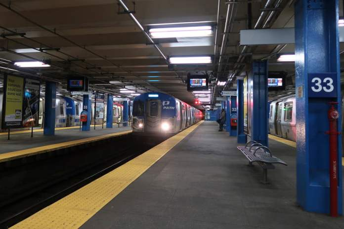 The 33rd Street PATH station
