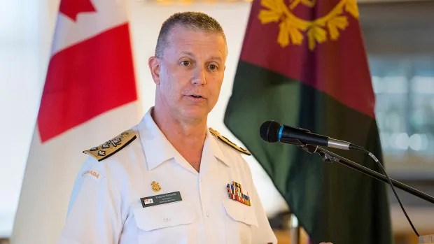 Canada's top military commander Art McDonald steps aside after investigation launched into misconduct