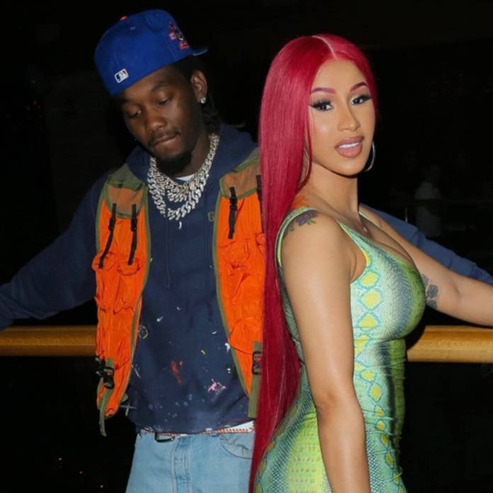 Cardi B's Clip of Offset Painting Kulture's Nails Will Melt Your Heart