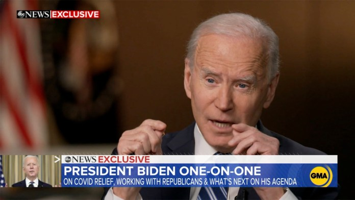 President Joe Biden discusses tax rate increases on Americans making more than $400,000 a year.