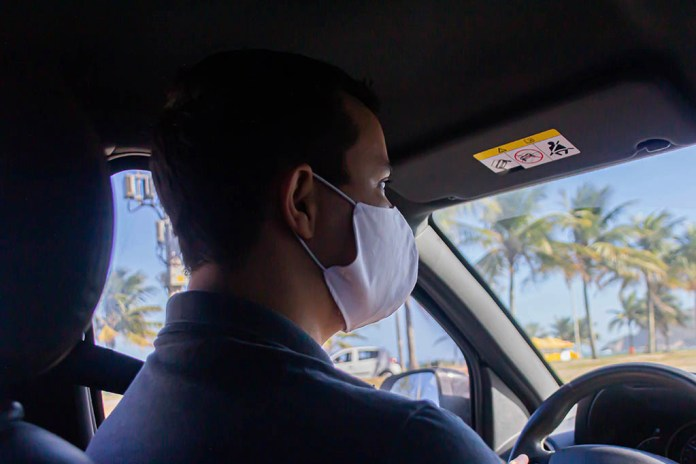 Woman refusing to wear mask goes ballistic on San Francisco Uber driver