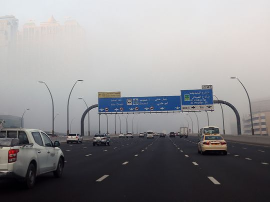 UAE weather: Mostly sunny and foggy in Abu Dhabi, Dubai, Sharjah, and other emirates