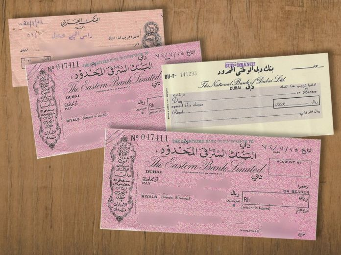 USE ONLY FOR DEEPAK BHATIA STORY_Cheques used in the seventies.