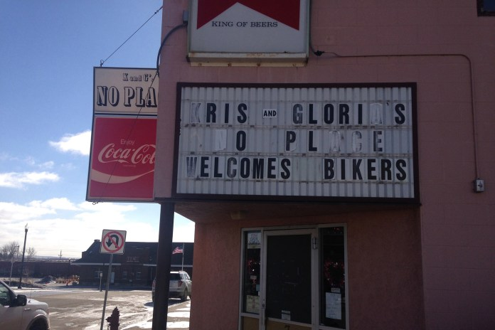The local watering holes gave oil workers a place to meet, drink and fight.