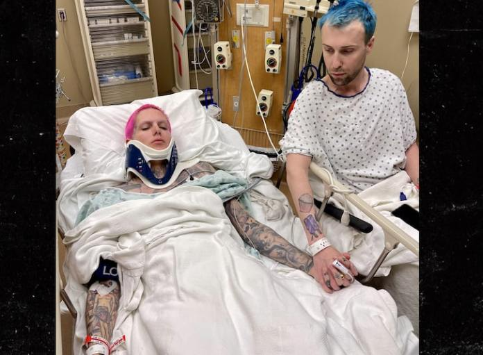 Jeffree Star Hospitalized After Scary Car Crash in Wyoming