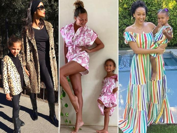 Celebrity Moms With Mini-Mes -- Twinning!