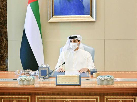 Sheikh Mansour chairs general budget committee meeting