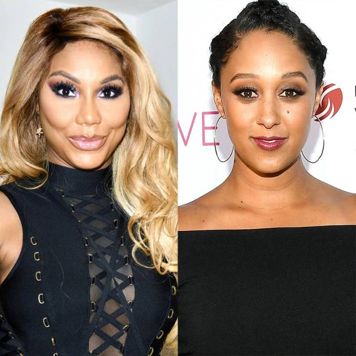 Tamar Braxton & Tamera Mowry Share Sweet Words After The Real