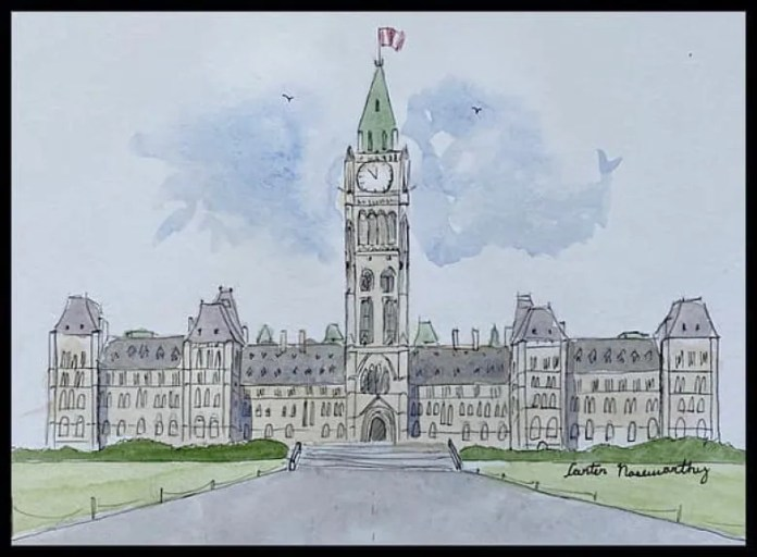 Citadel Clock Tower to Big Ben: 12-year-old N.S. boy is taking his lockdown art project worldwide