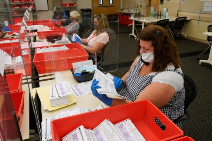 Voters will be allowed the option to vote by mail should they not wish to vote in person.