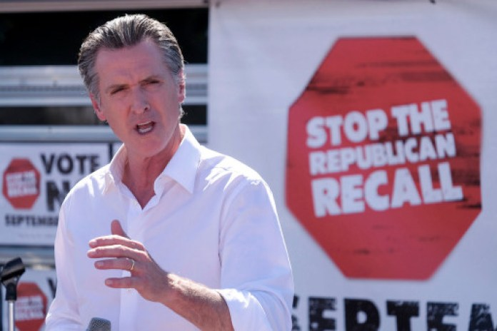Newsom is only the fourth Governor to face a recall in US history and the second in the state of California.
