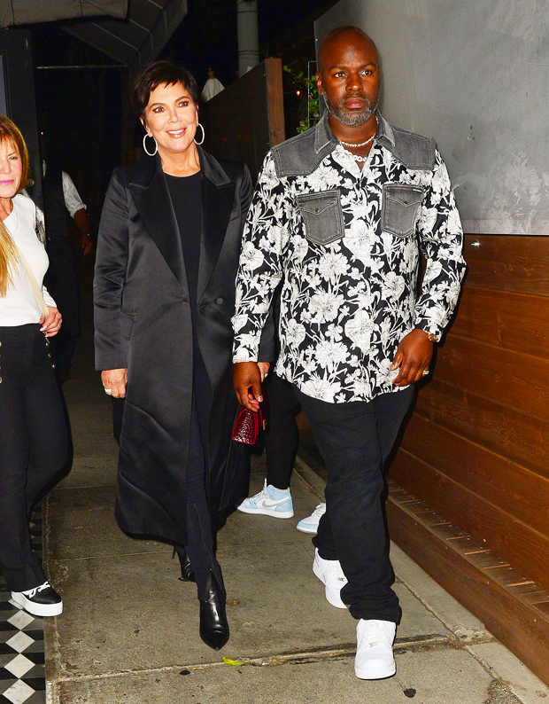 Kris Jenner & Corey Gamble Show Their Love Is Strong On Dinner Date – Hollywood Life