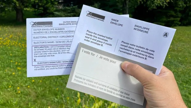 Nearly 1 million Canadians have requested mail-in ballots as deadline approaches