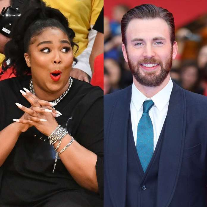 See Lizzo Try to Get Chris Evans to Co-Star With Her in This Sexy Film