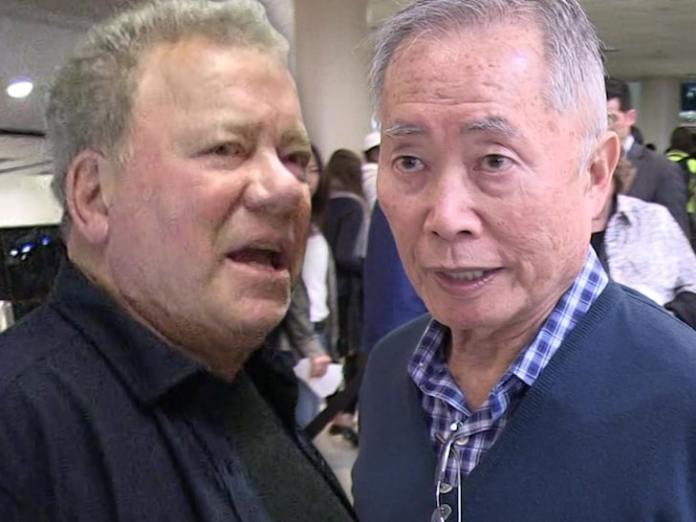 William Shatner Fires Back at George Takei Over 'Guinea Pig' Space ...