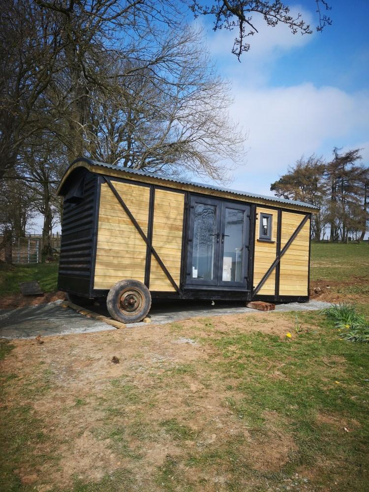 pen rhos luxury glamping wagon accommodation
