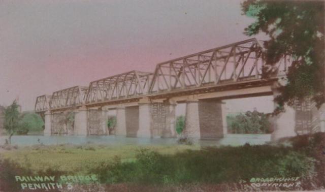 Rail Bridge and Victoria Bridge c1910s