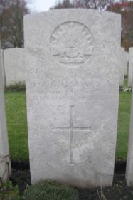 Headstone G. Martin