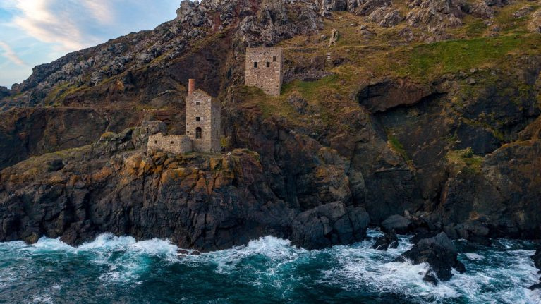 Crown Mines, Botallack featured in all series of Poldark.