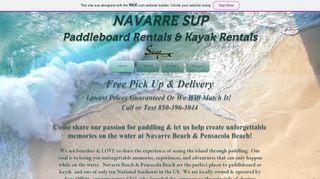 Navarre-SUP | Kayaks For Rent