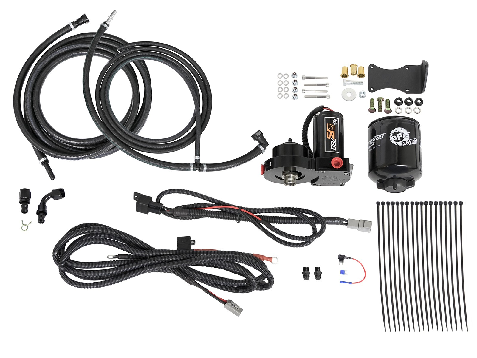 17 18 6 7l Ford Powerstroke Afe Dfs780 Pro Fuel System