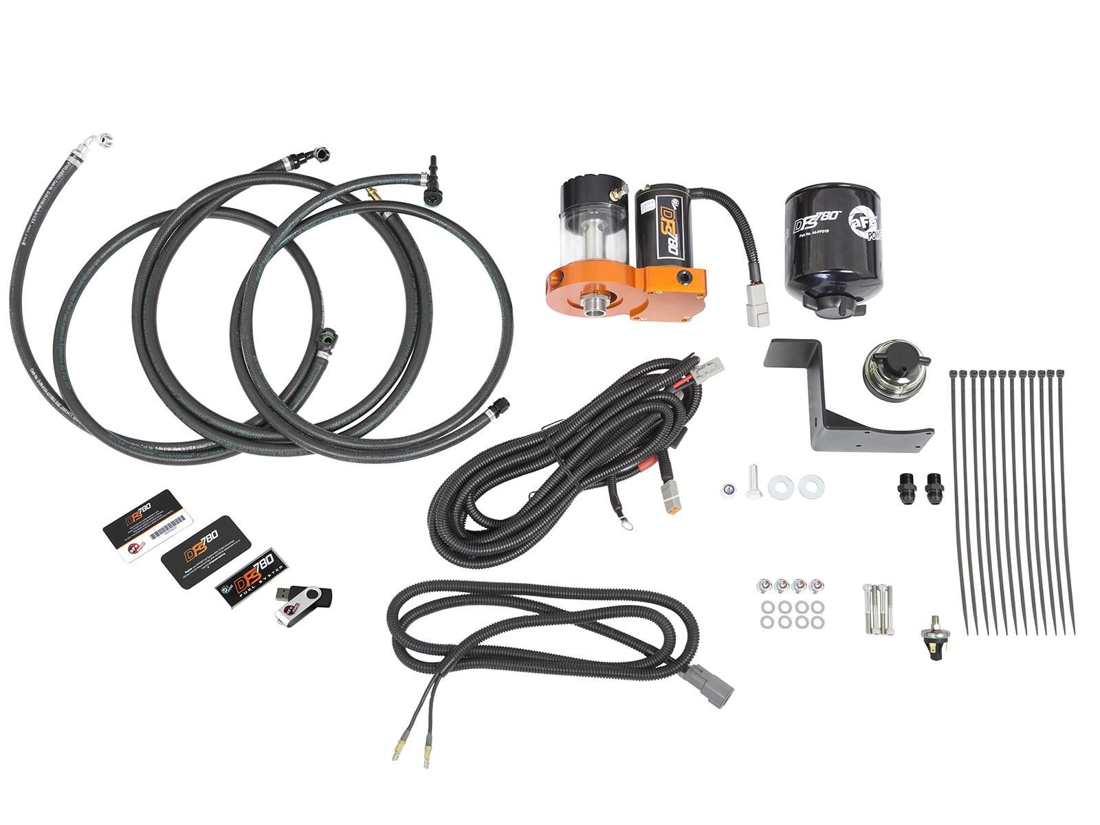 99 03 7 3l Powerstroke Afe Dfs780 Fuel System