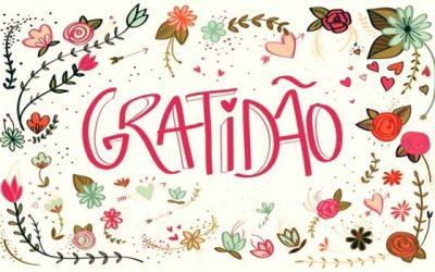 E a gratidão como fica