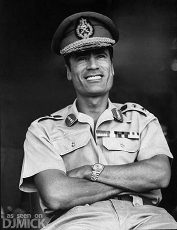 Conheça a história de 5 Sanguinários Parte I Quem foi Muammar Gaddafi
