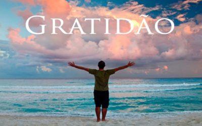 A gratidão começa em casa