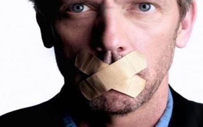 O segredo da vida pode estar em ficar de boca fechada