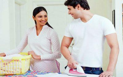 Pesquisa mostra homens que ajudam nas tarefas domésticas são mais felizes