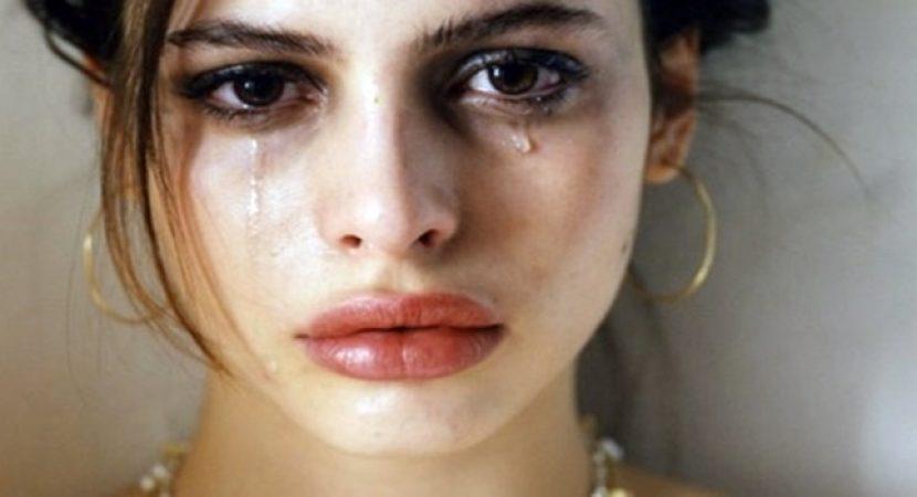 Chorar é preciso e ainda faz bem